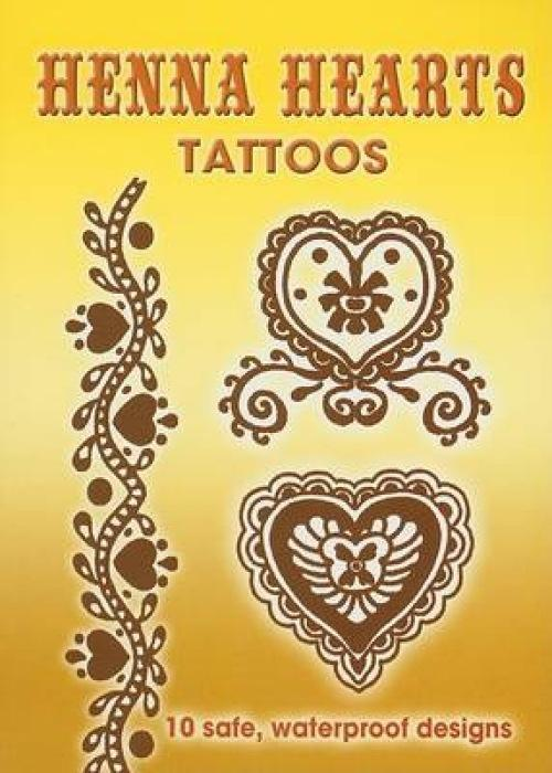 Henna Hearts Tattoos als Taschenbuch