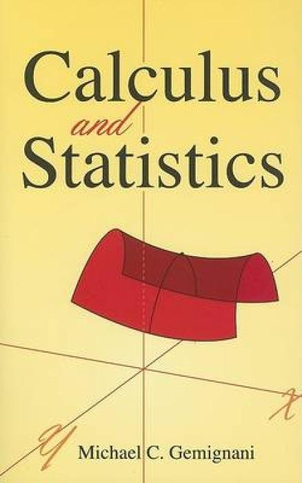 Calculus and Statistics als Taschenbuch