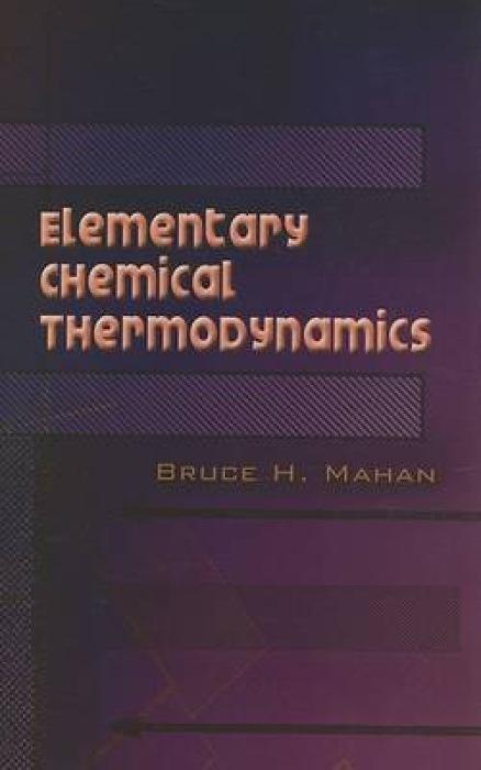 Elementary Chemical Thermodynamics als Taschenbuch