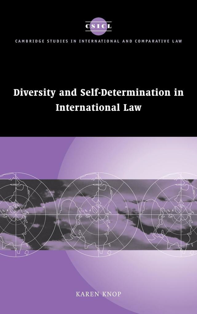 Diversity and Self-Determination in International Law als Buch