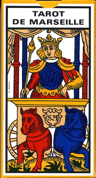 Ancien Tarot de Marseille als Spielwaren