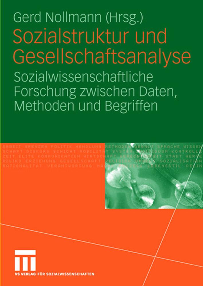 Sozialstruktur und Gesellschaftsanalyse als Buch