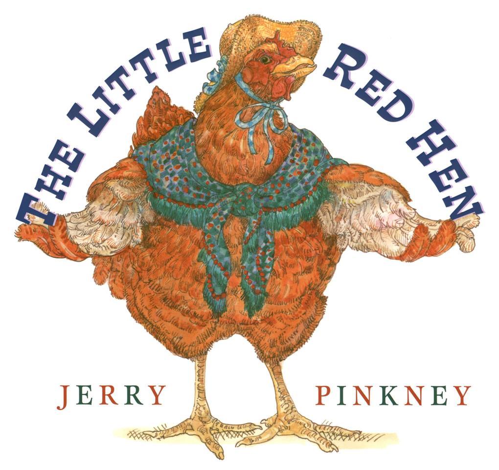 The Little Red Hen als Buch