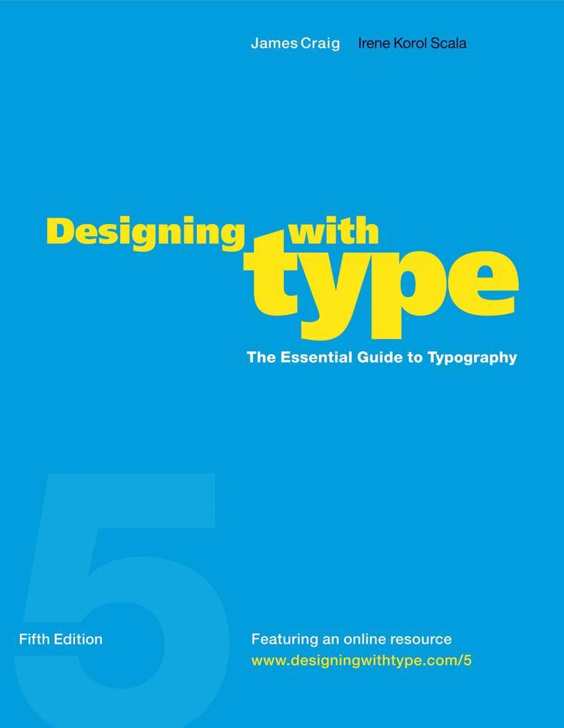 Designing With Type, 5Th Edition als Taschenbuch