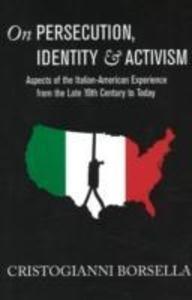 On Persecution, Identity & Activism als Taschenbuch