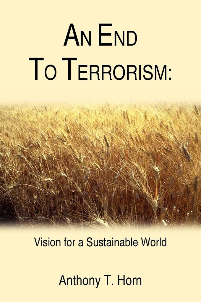 An End to Terrorism: Vision for a Sustainable World als Taschenbuch