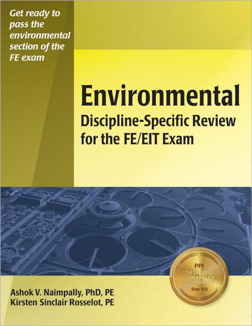 Environmental Discipline-Specific Review for the FE/EIT Exam als Taschenbuch