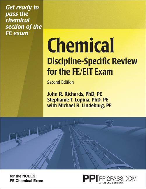 Chemical Discipline-Specific Review for the FE/EIT Exam als Taschenbuch