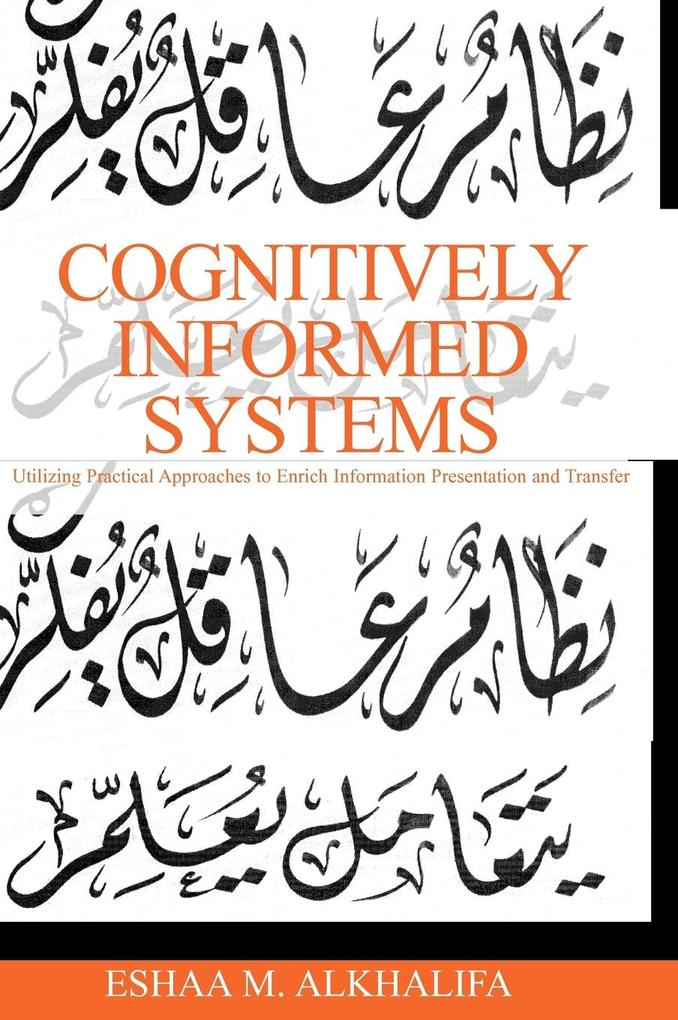 Cognitively Informed Systems als Buch