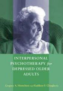 Interpersonal Psychotherapy for Depressed Older Adults als Buch
