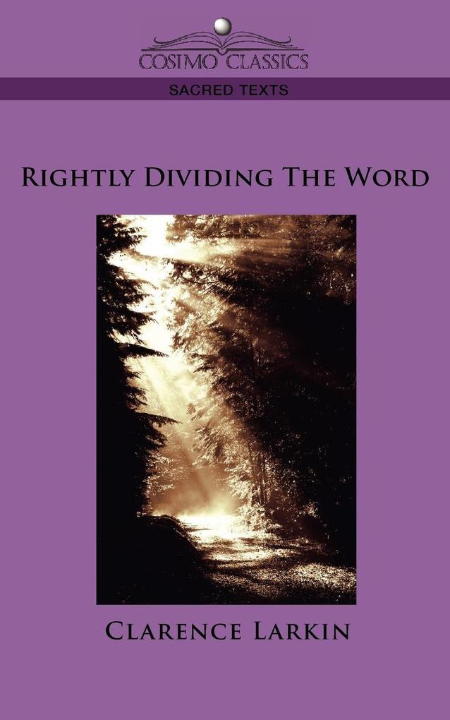 Rightly Dividing the Word als Taschenbuch