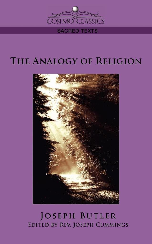 The Analogy of Religion als Taschenbuch