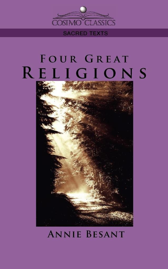 Four Great Religions als Taschenbuch