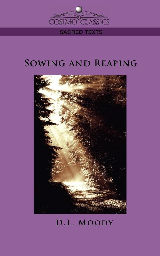 Sowing and Reaping als Taschenbuch