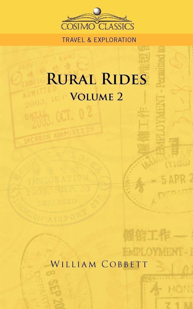 Rural Rides - Volume 2 als Taschenbuch
