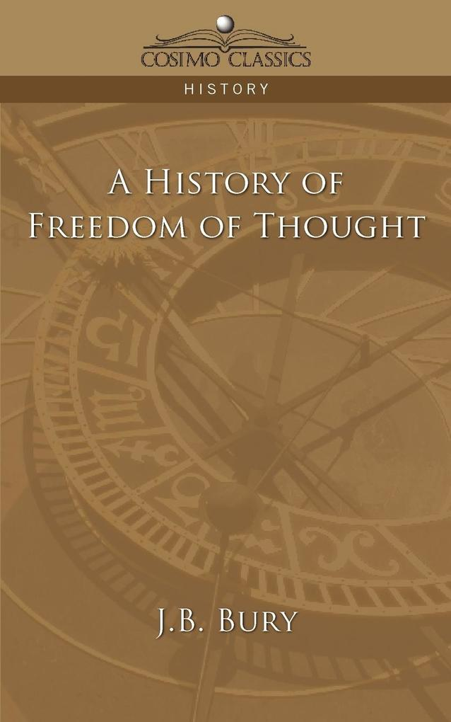 A History of Freedom of Thought als Taschenbuch