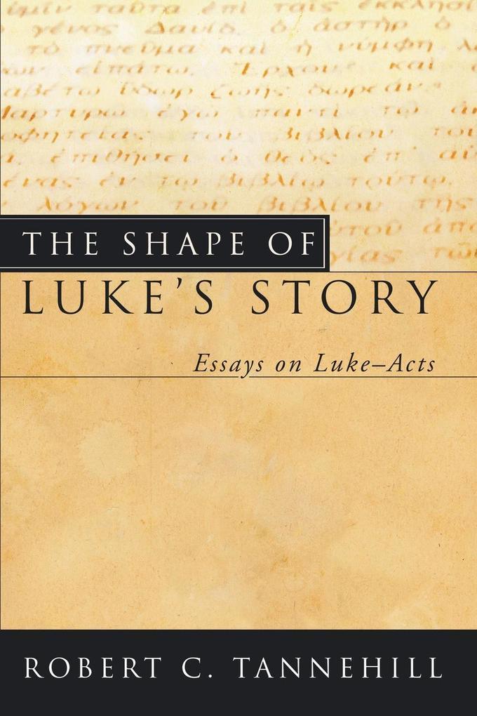 The Shape of Luke's Story als Taschenbuch