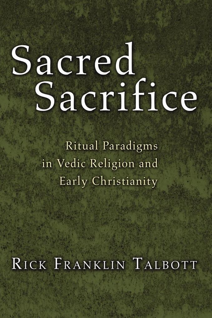Sacred Sacrifice als Taschenbuch