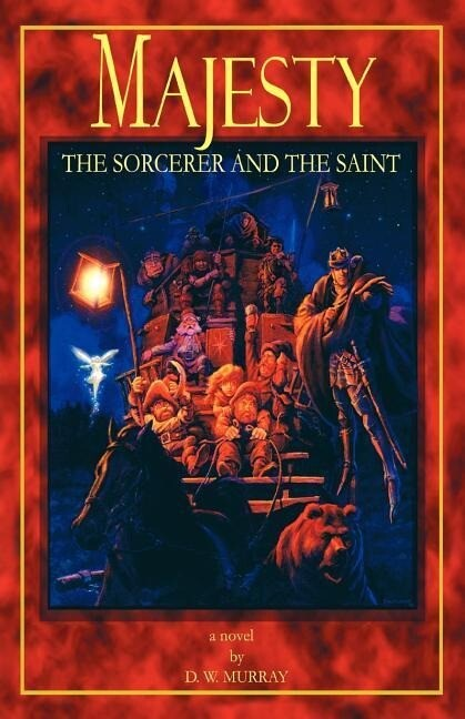 Majesty: The Sorcerer and the Saint als Buch
