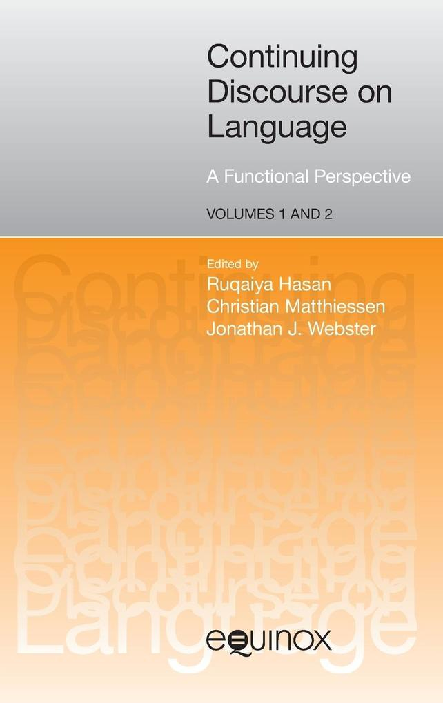 Continuing Discourse on Language als Buch