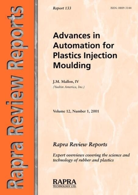 Advances in Automation for Plastics Injection Moulding als Taschenbuch