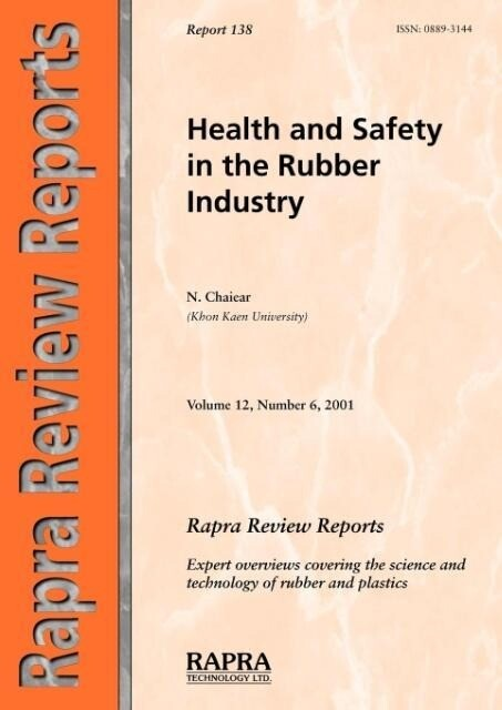 Health and Safety in the Rubber Industry als Taschenbuch