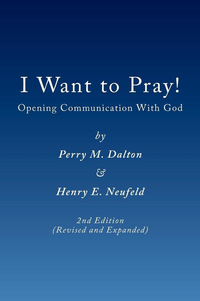 I Want to Pray! als Taschenbuch