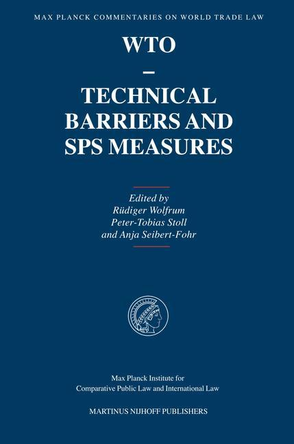Wto - Technical Barriers and Sps Measures als Buch