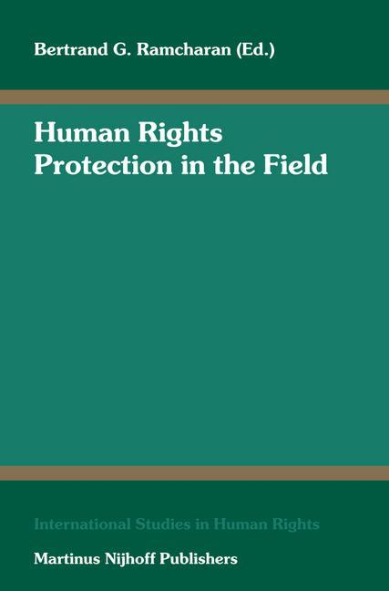 Human Rights Protection in the Field als Buch