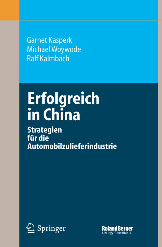 Erfolgreich in China als Buch
