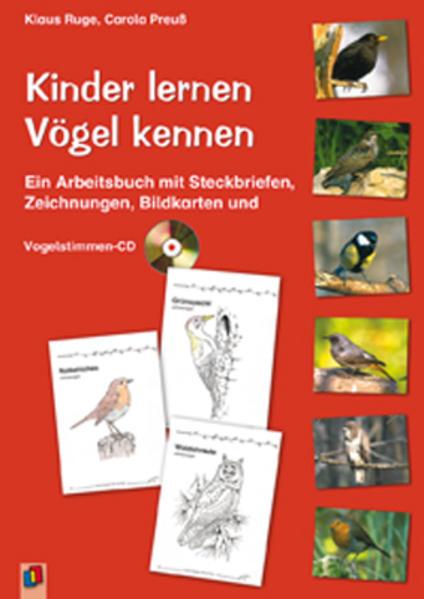 Kinder lernen Vögel kennen als Buch