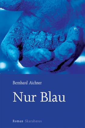 Nur Blau als Buch