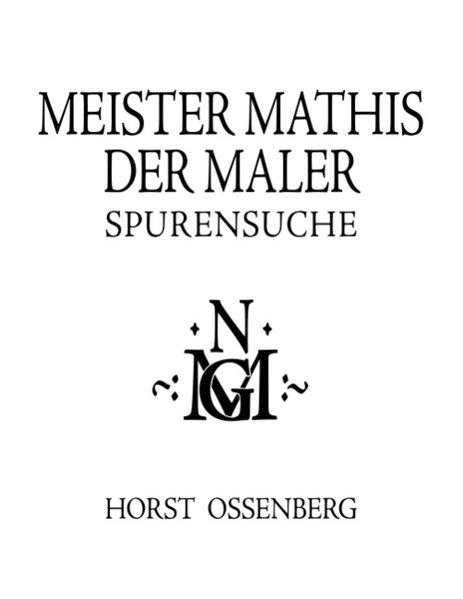 Meister Mathis der Maler als Buch