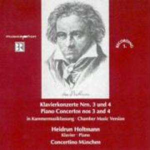 Klavierkonzerte 3 und 4 als CD