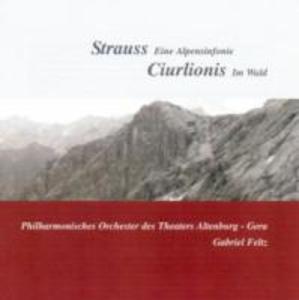 Eine Alpensinfonie/Im Wald als CD