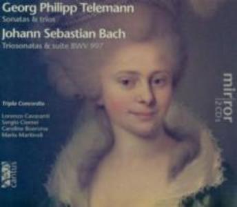 Telemann: Sonatas & trios/Bach: Triosonatas & su als CD