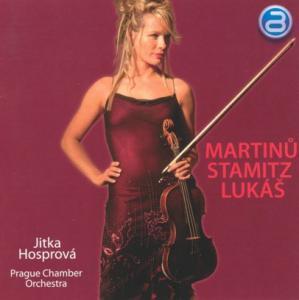 Martinu / Stamitz / Lukas: Vio als CD