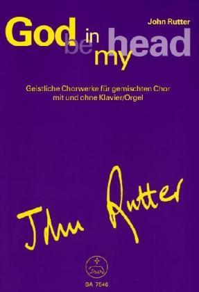 God be in my head, Singpartitur als Buch