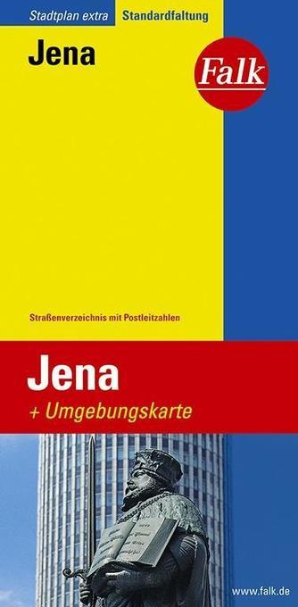 Falk Stadtplan Extra Standardfaltung Jena als Buch