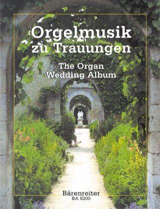 Orgelmusik zu Trauungen, Partitur als Buch