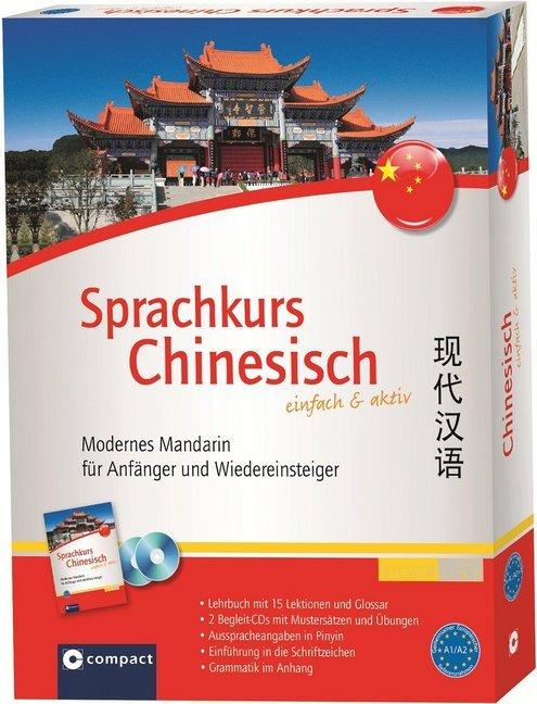 Compact Sprachkurs Chinesisch einfach & aktiv als Buch