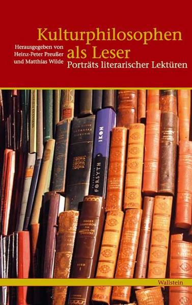 Kulturphilosophen als Leser als Buch