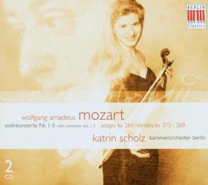 Violinkonzerte 1-5 als CD