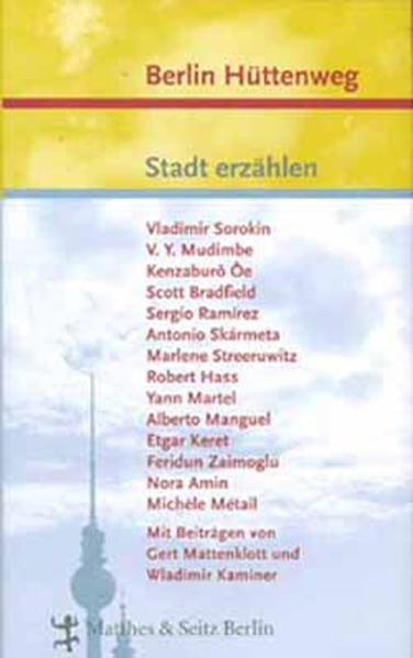 Berlin Hüttenweg als Buch
