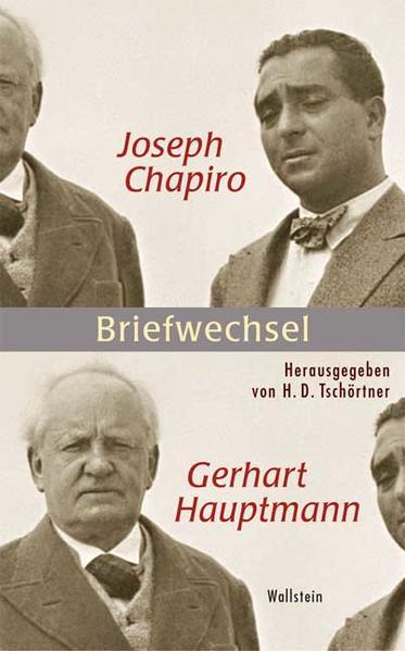 Joseph Chapiro - Gerhart Hauptmann als Buch