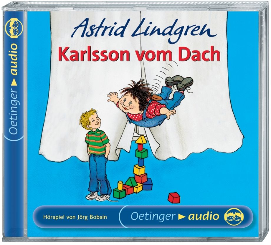 Karlsson vom Dach. CD als Hörbuch