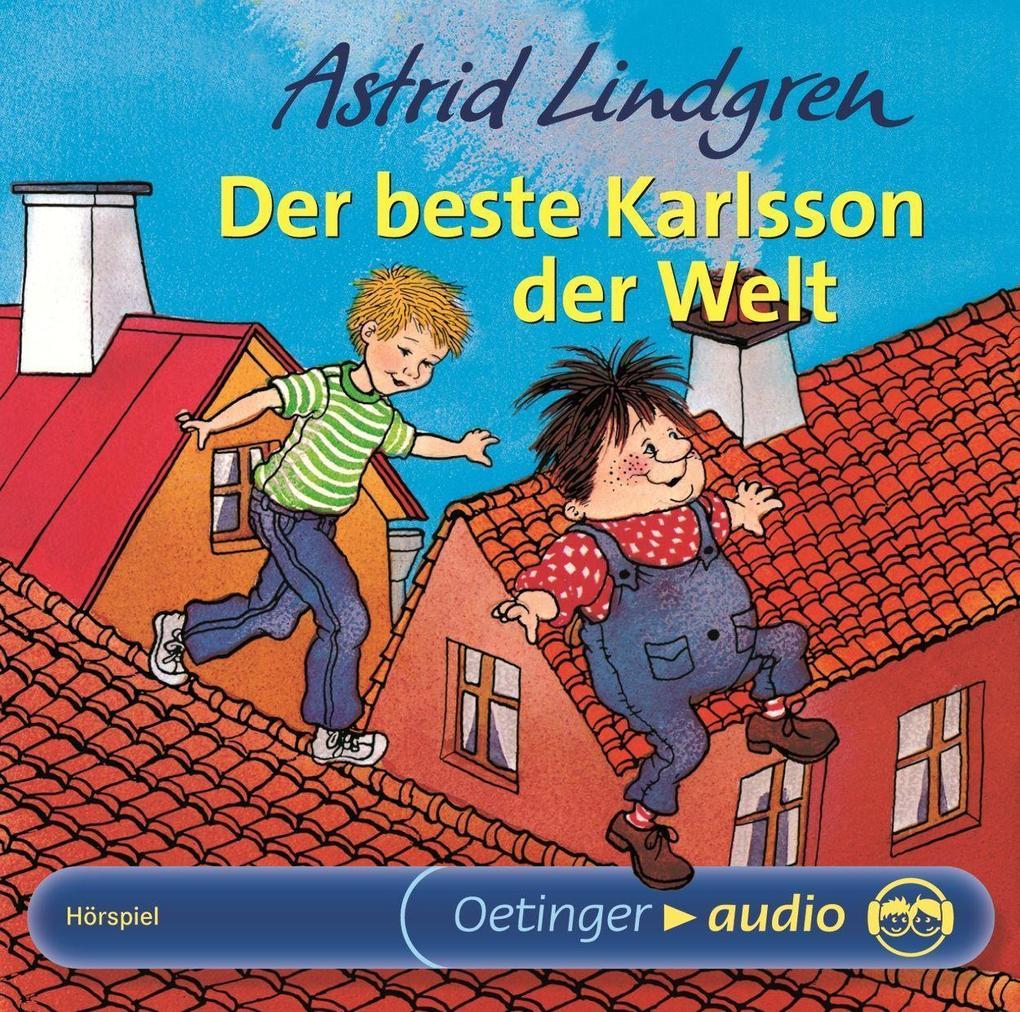 Der beste Karlsson der Welt. CD als Hörbuch