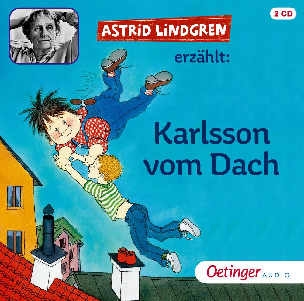 Karlsson vom Dach. 2 CDs als Hörbuch