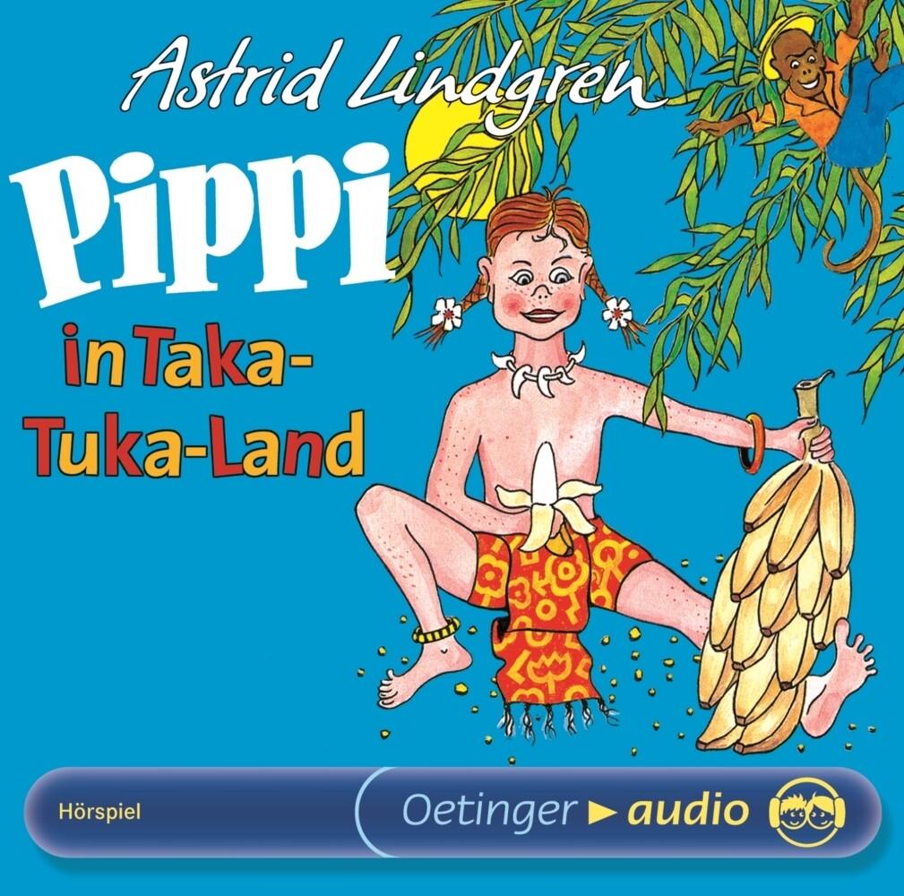Pippi in Taka-Tuka-Land als Hörbuch