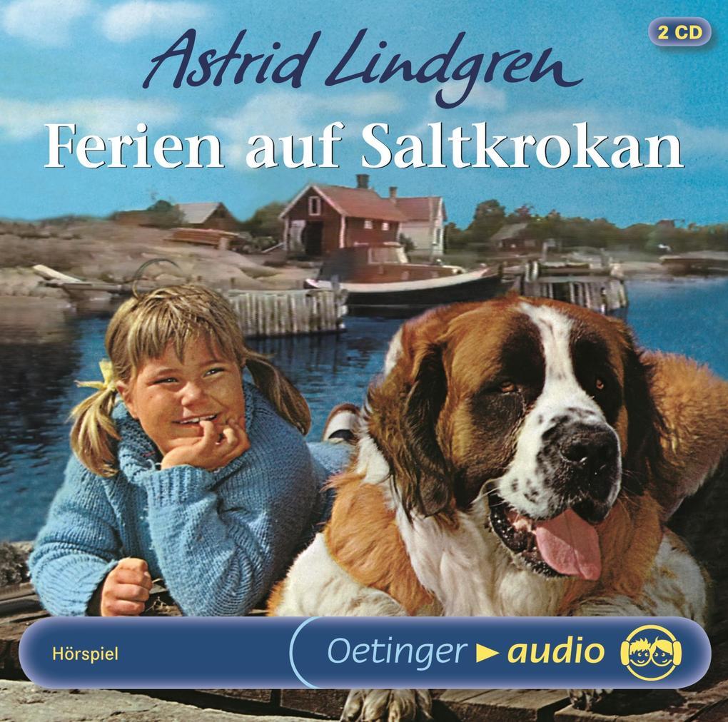 Ferien auf Saltkrokan. 2 CDs als Hörbuch